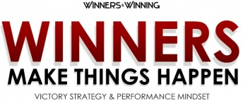Winner: Winners Make Things Happen