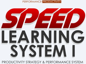 SPEED Learning System I – Productivity Strategy & Performance System