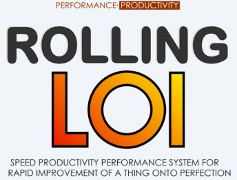 Rolling LOI - Speed Productivity Performance System