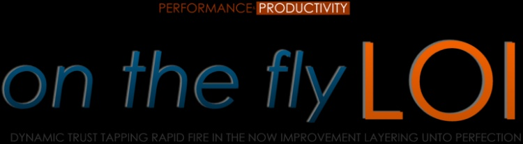 On the FLY LOI - Speed Productivity Performance Strategy