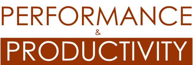 PERFORMANCE and Productivity logo